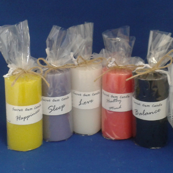 Secrect Gem Candles